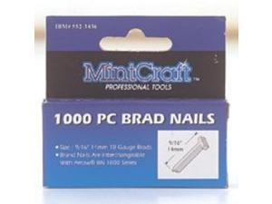 "9/16""(14Mm) 1000/Box MINTCRAFT Brads T14 045734954458"