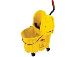 Rubbermaid Commercial 640-7577-88-YEL Mopping Bucket And Wringer Combination Pk-Yellow
