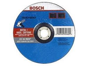 Whl Cut 5In 0.04In 60 7/8In Bosch 5 To 7 Inch Wheels TCW27S500 ALUMINUM OXIDE