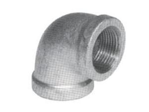 B & K Industries 510-010BC Elbow 90-Degree Galvanized 3 Malleable Iron 90 De
