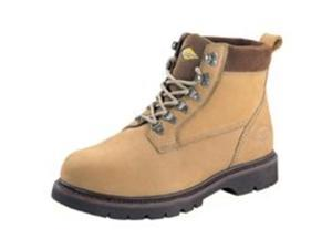 "Work Boot 6"" Stl Toe Nubk 7.5M DIAMONDBACK Boots - Leather Steel Toe"