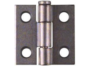 "Zinc Plated 1"" Hinges 2pk Chest Jewelry Box NATIONAL Utility Hinges N227-124"