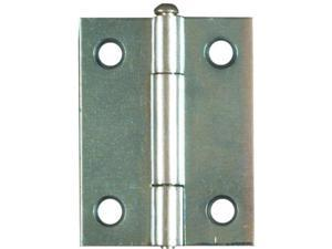 "Zinc Plated 2"" Door Hinge 2Pk Loose Pin NATIONAL Utility Hinges N227-165 Zinc"