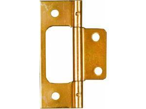 "Brass Finish 3"" Surface Mounted Bi-Fold Door Hinges NATIONAL N146-951 Brass"