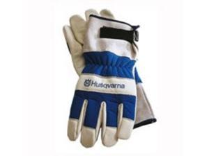 Poulan 531030767 Husqvarna Heavy-Duty Work Gloves Leather Palm, One Size