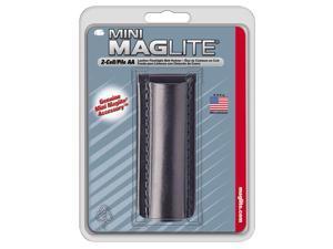 Maglite Light AM2A026 Black Plain Leather Mini-Mag Flashlight Holster/Holder