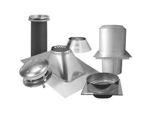 "Sure-Temp Flat Ceiling Support Kit, 8"", Stainless Steel SELKIRK INC 208620"