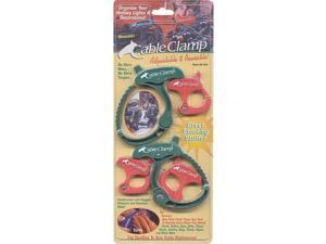 Cable Clamp, Polymer/Stainless Steel, Red/Green Q A WORLDWIDE Glues / Cements