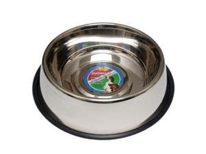 96 Oz Stainless Steel Hilo Dog Dish Non Skid Boss Pet Products Pet Supplies