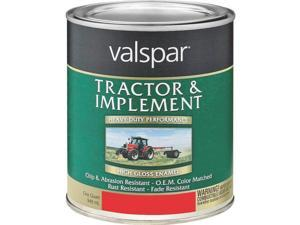 1 Qt Ford Red Tractor & Implement Paint VALSPAR Brush On-Rust Inhibitive