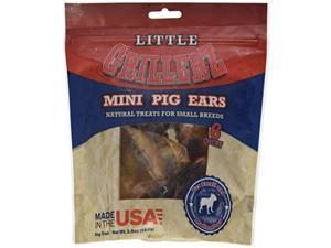 6Ct Grillerz Pig Ears Dog Treat, Mini Scott Pet Products Pet Supplies AT256
