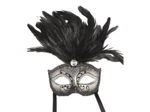 VENETIAN MASQUERADE MASK - Fancy Feathers - VICTORIAN