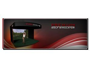 TruGolf Premium Golf Simulator System PSSE6-15 + Free Heat Smart Heater Bundle