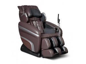 Osaki OS7200H Executive Zero Gravity STrack Heating Massage Chair Brown Recliner
