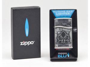 Zippo BLU2 -High Polish w/ Design 30201