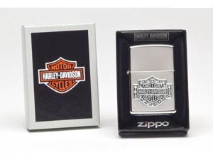 Zippo H-D Swarovski, High Polish Chrome 28349