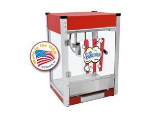 Paragon 4 oz Red Cineplex Popcorn Machine Movie Theater Snack Concession 1104800