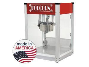 Paragon 4 oz. Gatsby Popcorn Machine Red Concession Snack Merchandiser 1104530