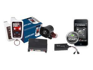Clifford 590.4X 2-Way HD Car Alarm System Remote Start Python DSM200 SmartStart