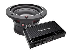 "Rockford Fosgate R250X1 Mono Car Amplifier w/ P1S210 10"" Subwoofer Package"