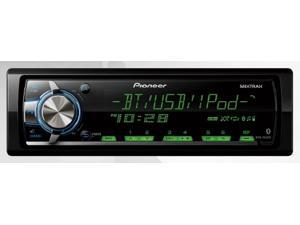 Pioneer MVH-X560BT In-Dash Single-Din Digital Media Receiver with Built In Bluetooth for Handsfree Calling and Audio Streaming ...