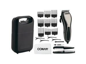 CONAIR HCT21 Cut N' Detail 24-Piece Chrome Haircut Kit