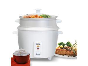 8 cup rice cooker w/ steam tray