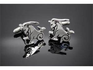 Constellation Capricorn Horoscope Sign Cufflinks
