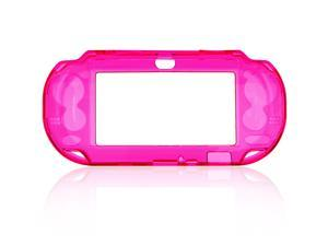 Protective Crystal Hard Guard Case Cover Shell Skin for Sony PS Vita, Hot Pink