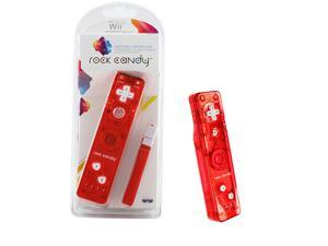 Wii - Controller - Rock Candy - Red (PDP)