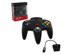 Retro-Bit Wireless Hypermode Controller Black for Nintendo 64