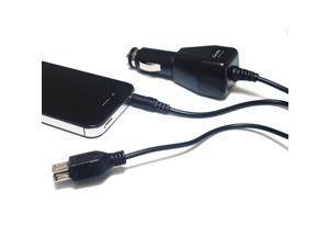 Skque FM Transmitter with USB Car Charger Black