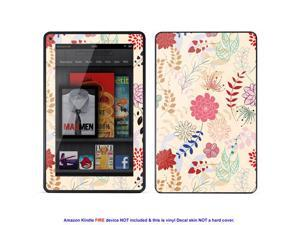 MATTE decal Skin skins sticker for Amazon Kindle Fire tablet  Matte Finish case cover MAT-KFire-350