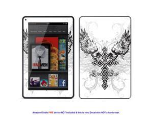 MATTE decal Skin skins sticker for Amazon Kindle Fire tablet  Matte Finish case cover MAT-KFire-501