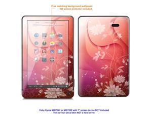 MATTE decal Skin skins sticker for Coby Kyros MID7042, MID7022 tablet  with 7inch screen with Matte finish case cover MAT-MID7042-350