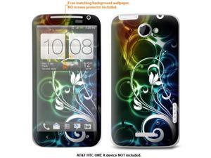 Protective Decal Skin skins sticker for AT&T HTC One X case cover attONExX-22