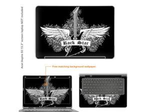 Matte Protective Decal Skin Sticker for ACER S3 Ultrabook with 13.3inch Screen (NOTES: view IDENTIFY image for correct model) ...