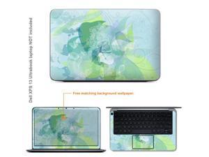 Matte Protective Decal Skin Sticker for Dell XPS 13 Ultrabook with 13.3inch Screen (NOTES: view IDENTIFY image for correct ...