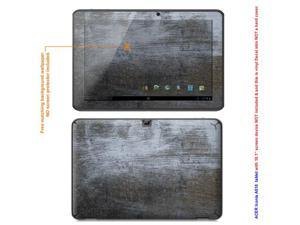 MATTE decal Skin skins sticker for Acer Iconia Tablet A510 with 10.1 inch screen (NOTES: view IDENTIFY image for correct ...