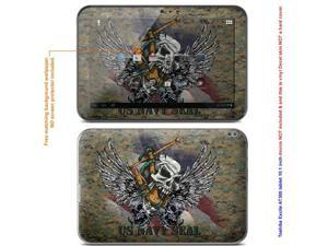 "MATTE decal Skin skins sticker for Toshiba Excite AT305 with 10.1in screen tablet (NOTES: Must view ""IDENTIFY"" image for ..."