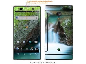 Decalrus Protective Decal Skin skins sticker for AT&T Sony Xperia Ion case cover Ion-90