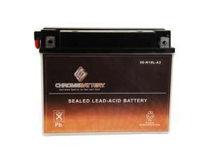 Y50-N18L-A3 Motorcycle Battery for Harley-Davidson 1340cc FL FLH Touring 1982