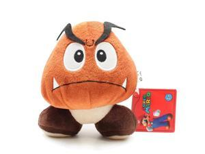 "Global Holdings Super Mario Plush Toy - 5"" Goomba"