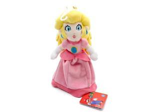 "Global Holdings Super Mario Plush Toy - 7"" Princess Peach"