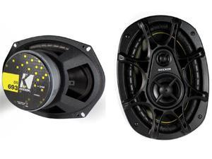 "NEW PAIR 2011 (2) KICKER DS693 6x9"" 280W 3-Way Car Audio Speakers 11DS693"