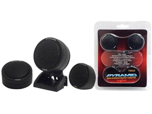 "NEW PAIR PYRAMID TW23 1.5"" 120W CAR AUDIO PIEZO MOTOROLA TWEETER 120 WATT 1 1/2"""