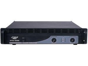"NEW PYLE PTA1000 19"" 1000W RACK MOUNTABLE PROFESSIONAL AMPLIFIER AMP 1000 WATT"