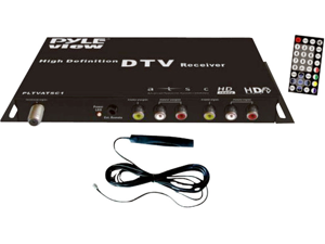 Pyle - ATSC Digital Car HDTV Tuner/Receiver