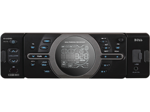 BOSS AUDIO In-Dash Single-DIN MP3 Digital Media Player AM/FM Receiver Model 810DBI