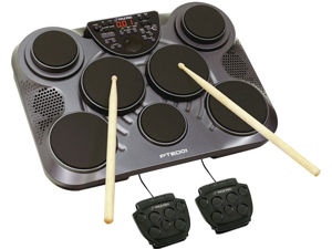 NEW PYLE PTED01 TABLE TOP DIGITAL DRUM SET WITH USB PORT